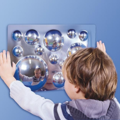Acrylic mirrors set of 4,Sensory mirrors,mirrors for childrens room,childrens safety mirrors